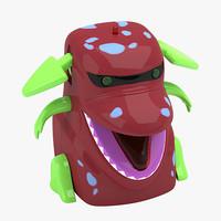 3d dragon toy
