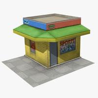 3d store shop