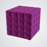 Buzzicube 3D Buzzispace Pouf