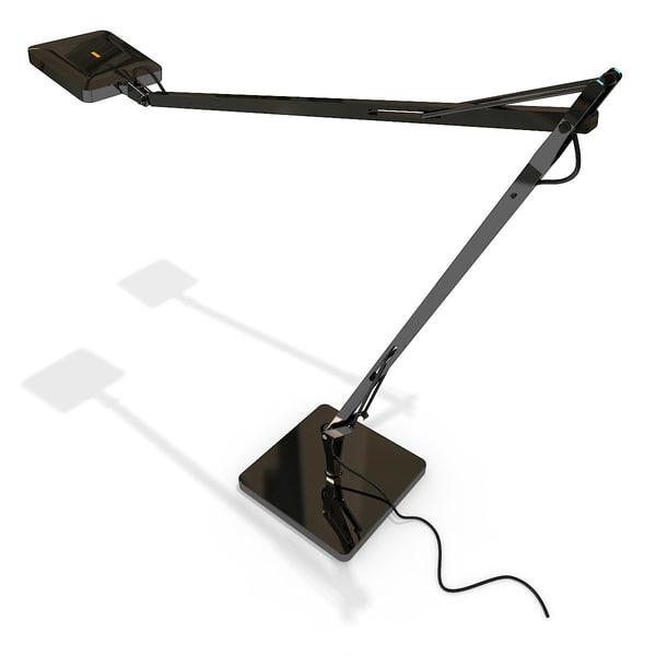 3ds flos kelvin led table lamp. Black Bedroom Furniture Sets. Home Design Ideas
