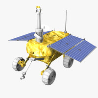 purchase jade rabbit moon rover 3d model