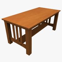 maya en table