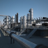 3ds max refineries