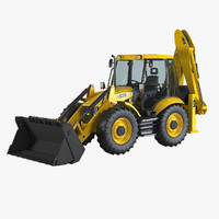 4cx loader backhoe max
