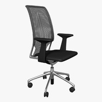 Office Chair Meda (Nero)