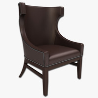 3d lounge chair model