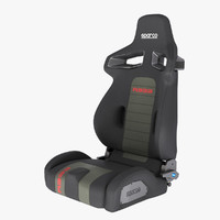 Sparco R333 Sports Seat - Anthracite