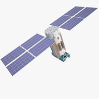 satellite glonass 3d max