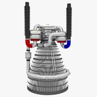 3d liquid rocket engine