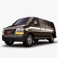 3d gmc savana van model