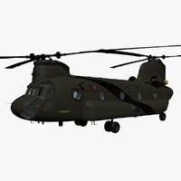 raf chinook transport helicopter max