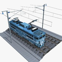 3d railroad tracks tcdd e model