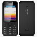 Nokia 208 3D models