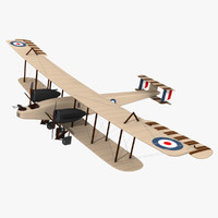 aircraft hendon december 3d model