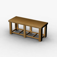 Workbench Wooden Large