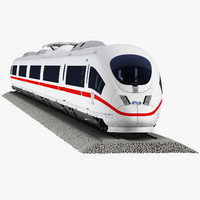 3d model ice 3 passenger train