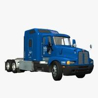 t600 truck sleeper 3d lwo