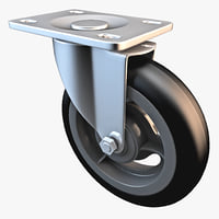 swivel caster obj