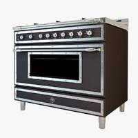 3ds max bertazzoni heritage stove