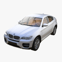 3d model bmw x6 2013