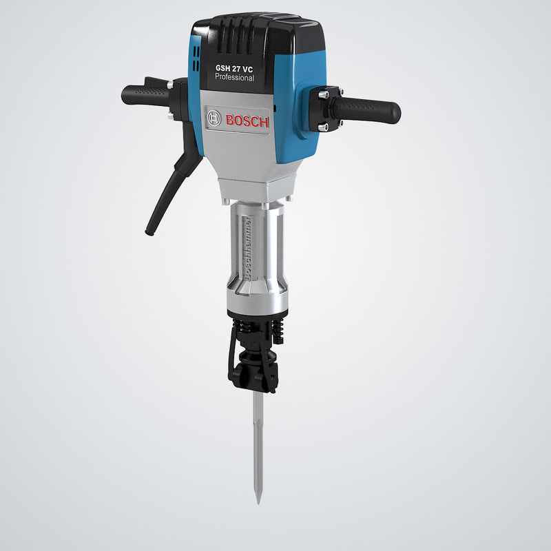 b Bosh GSH 27 VC Air Operated Hammer Chisel paving Breaker pick jackhammer buster Street worker Professional equipment tool building drill builder   0001.jpg