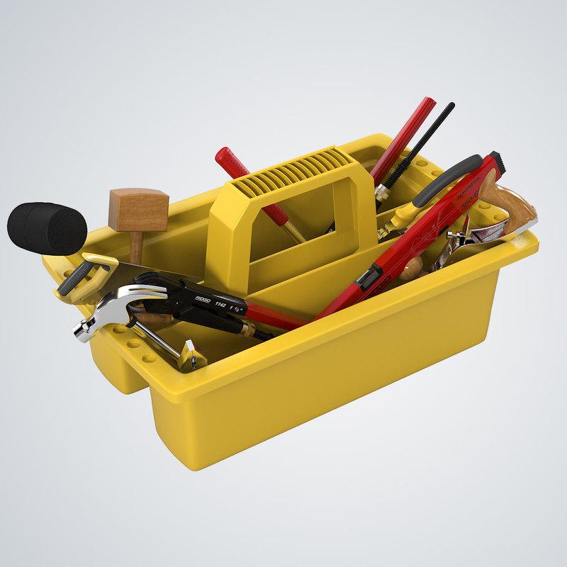b Tool Box toolbox industrial worker builder instrument0001.jpg