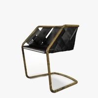 henge strip chair 3d max