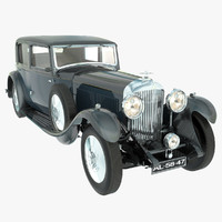 Bentley 8 Litre 1931 Without Engine And Salon
