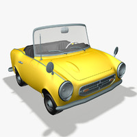 honda s800 3d model