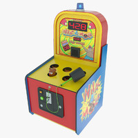 Whack A Mole Arcade Game