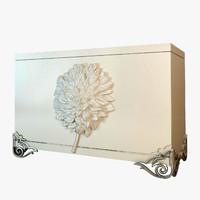 3d model dresser think flowers