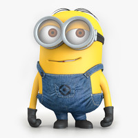 minion character despicable 3d model