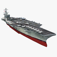 Aircraft Carrier USS Dwight D. Eisenhower CVN-69