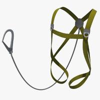 3d model of harness
