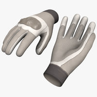 Futuristic Soldier Gloves