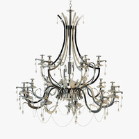 3d model chandelier visionnaire clitunno