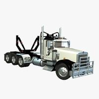 Kenworth W900 Logger