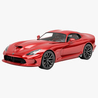 3ds max dodge srt viper 2013