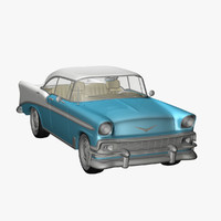 3ds max chevrolet 1956