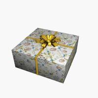 3d christmas present gift 2
