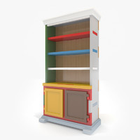 cabinet moooi paper 3d model