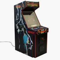 maya mortal kombat 2 arcade machine