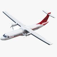ATR 72-600 Generic Red