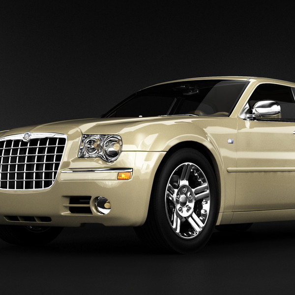 3d Chrysler 300 Luxury Sedan