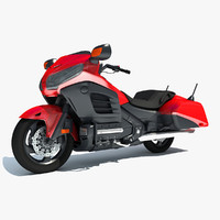 3d goldwing motorcycle