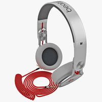 headphones monster beats mixr 3d model