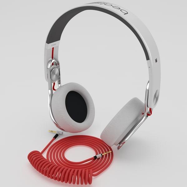 Beats Mixr On Head