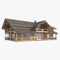 log house exterior max