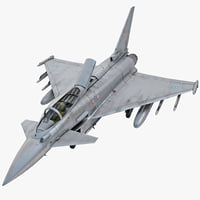 eurofighter typhoon ef2000 2 3d model