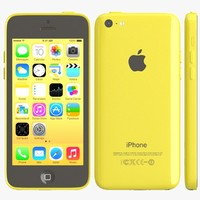 3ds apple iphone 5c yellow